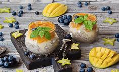 Пудинг Будха Боул с манго и семенами чиа