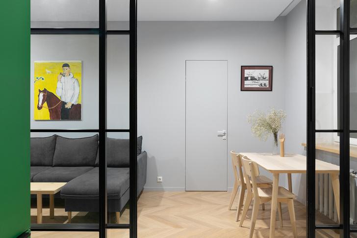 Фото №8 - Color Blocking: яркая квартира 63 м² в сталинке