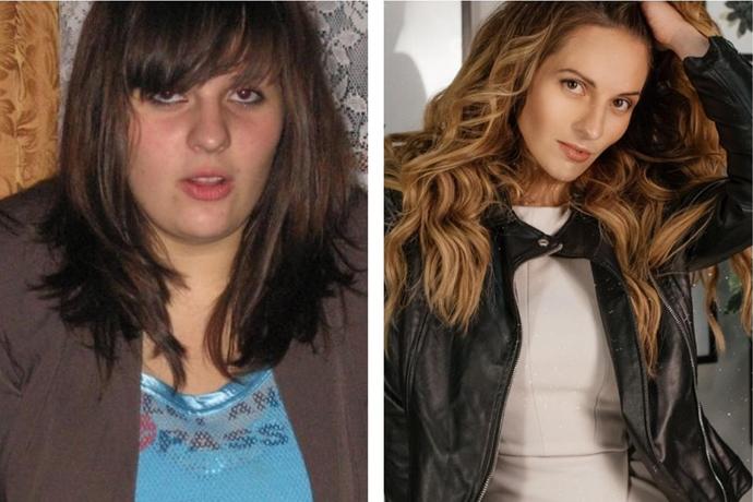 Наталья Щербинина до и после похудения