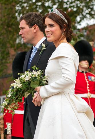 Фото №5 - Английская роза: каким было второе свадебное платье принцессы Евгении