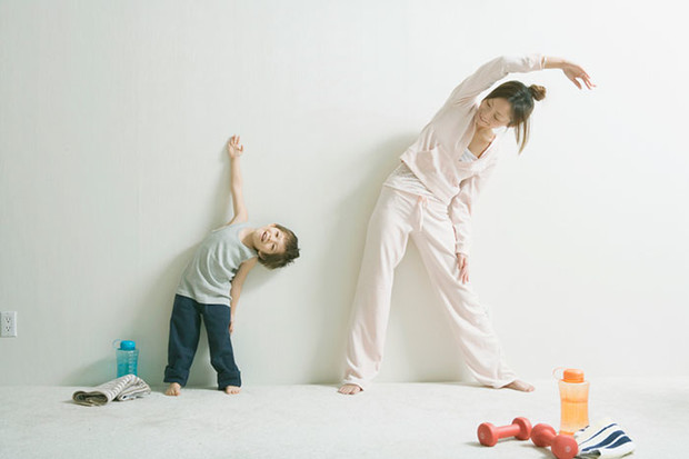Фото №4 - Простая и полезная зарядка для всей семьи