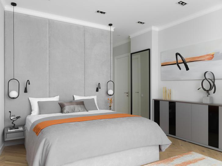Фото №7 - Элегантная московская квартира в серых тонах 100 м²
