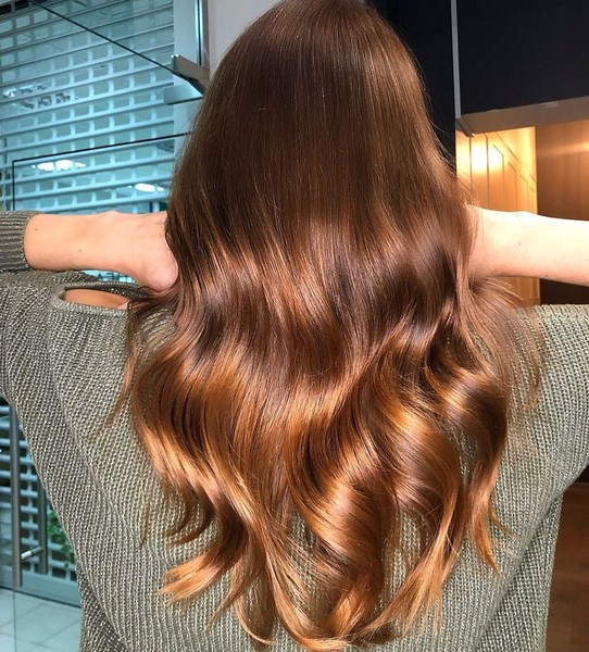 Фото №2 - Медный цвет волос: идеи окрашивания