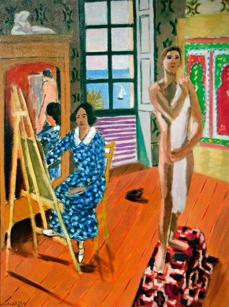 Картина Анри Матисса «Трехчасовое сидение»
