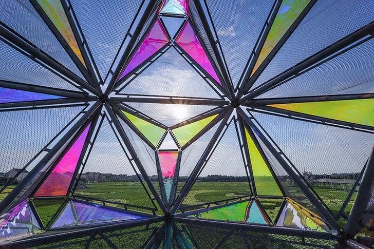 Фото №5 - Pop Star: инсталляция из цветного стекла в Китае