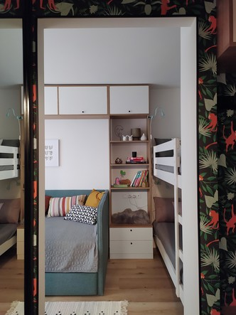 Фото №7 - Уютная студия 28 м² в Киеве для молодой мамы с детьми