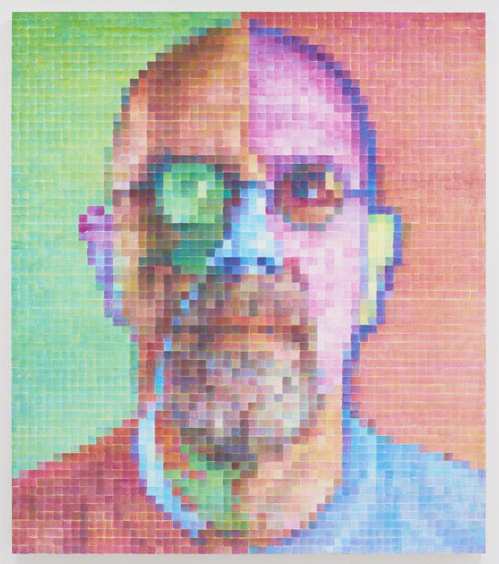 Фото №8 - Выставка Чака Клоуза в Gary Tatintsian Gallery