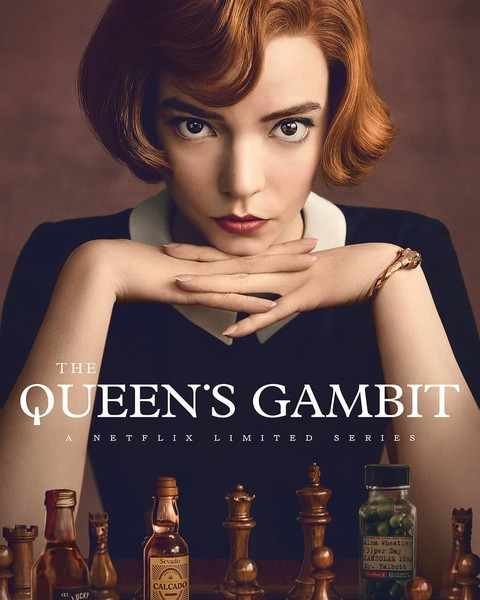 Фото №1 - Обязательно к просмотру! «Ход королевы» признан самым популярным мини-сериалом на Netflix