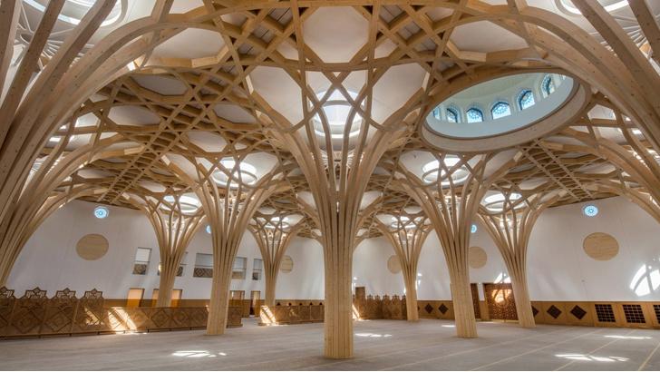 Фото №1 - Современная мечеть в Кембридже
