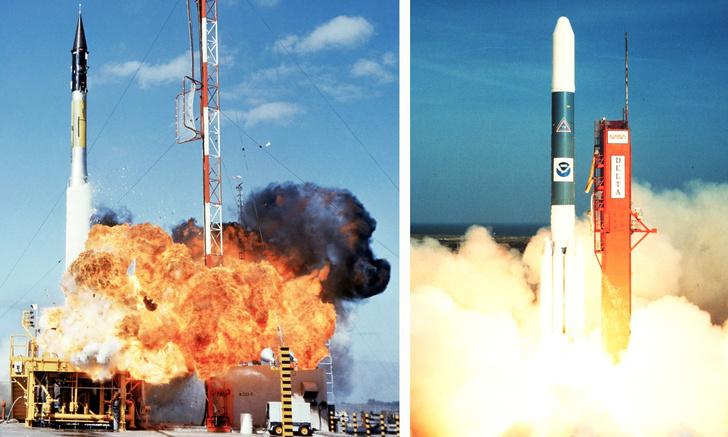 Фото №1 - Запуски ракет в космос, которые закончились катастрофой (видео)