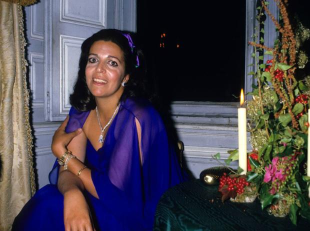 Кристина Онассис во Франции, 1980 год