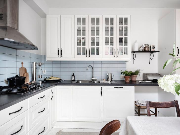 Фото №6 - Уютная квартира с мансардой в Швеции