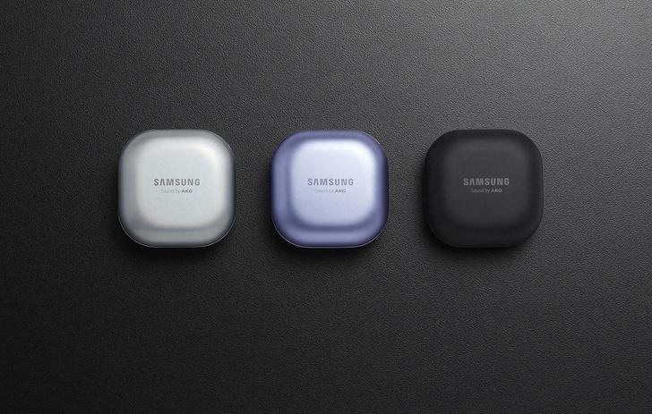 Фото №1 - Samsung представил наушники-капли и умный брелок Galaxy SmartTag