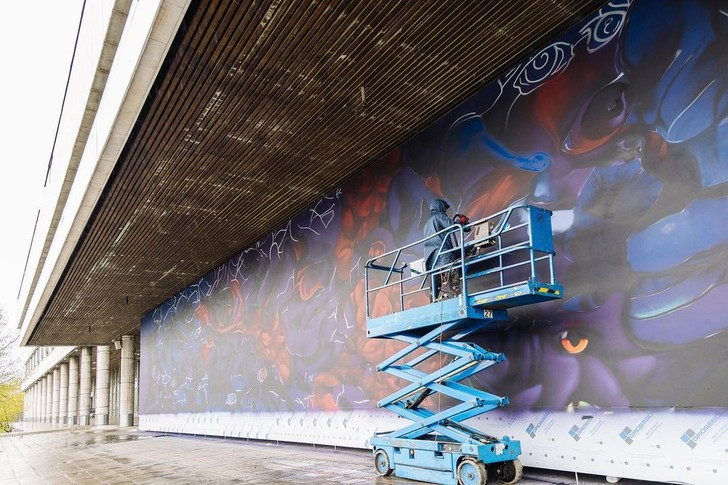 Фото №2 - Что посмотреть в Москве: на набережной «Музеона» откроется мурал художника Саши Купаляна ✨