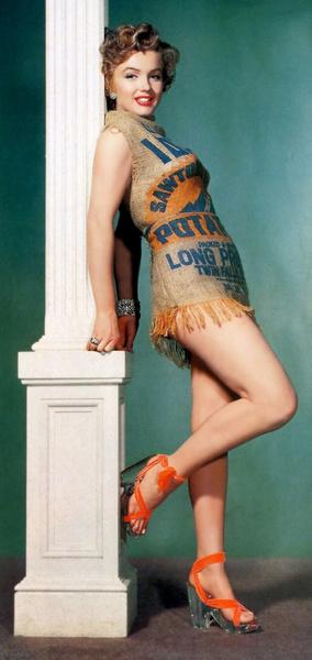 Фото №6 - Крошка-картошка: история самого странного наряда Мэрилин Монро