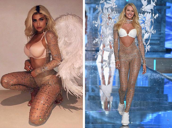 Фото №10 - Битва платьев: как выглядят звезды с разными фигурами в одинаковых нарядах