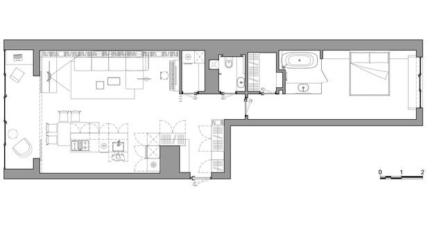 Фото №12 - Светлая квартира 83 м² в новом доме в Саратове
