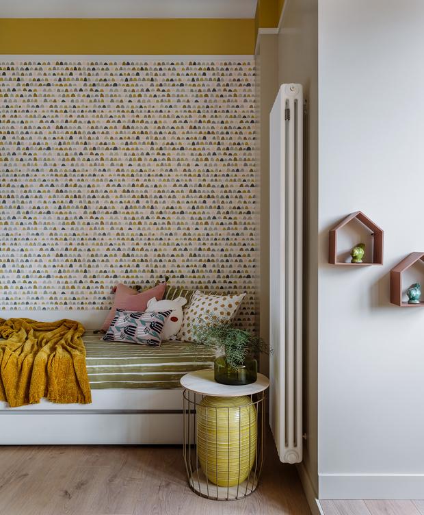 Фото №12 - Московская квартира 130 м² в пастельных тонах