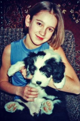 Фото №1 - Как российские звездные красотки выглядели в детстве: 20 фото