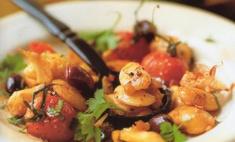 Таджин из белой фасоли с оливками