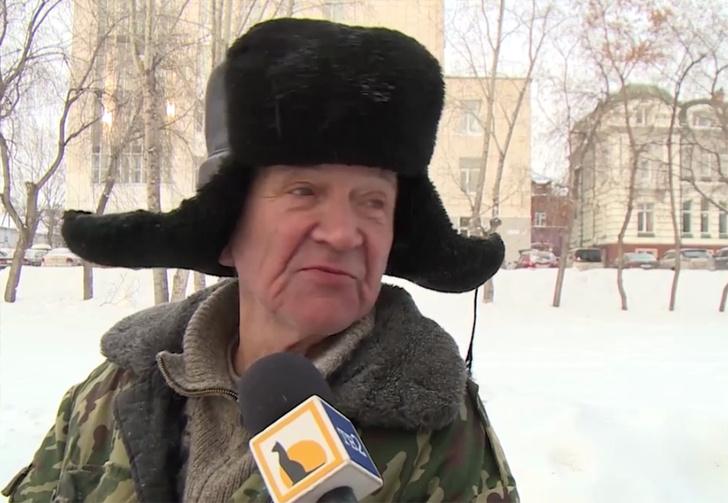 Фото №1 - Томские журналисты спросили местного дворника про любовь, а он начал цитировать Beatles и говорить по-французски (вирусное видео)