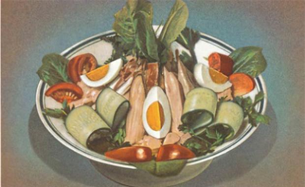 Фото №2 - Старый новый оливье— история и традиции, связанные с любимым салатом