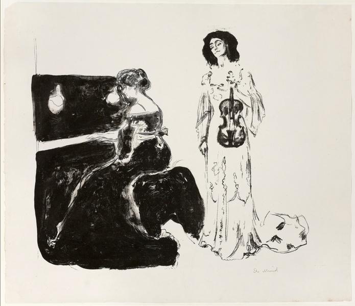 Фото №7 - «Женщина в ее тотальной изменчивости — это загадка для мужчины»: история художника Эдварда Мунка, который так и не встретил свою единственную