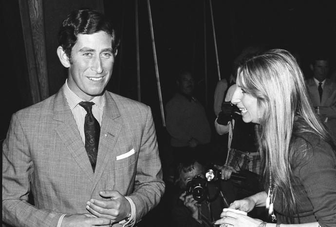 Первая встреча Чарльза и Барбры Стрейзанд. 1974 год