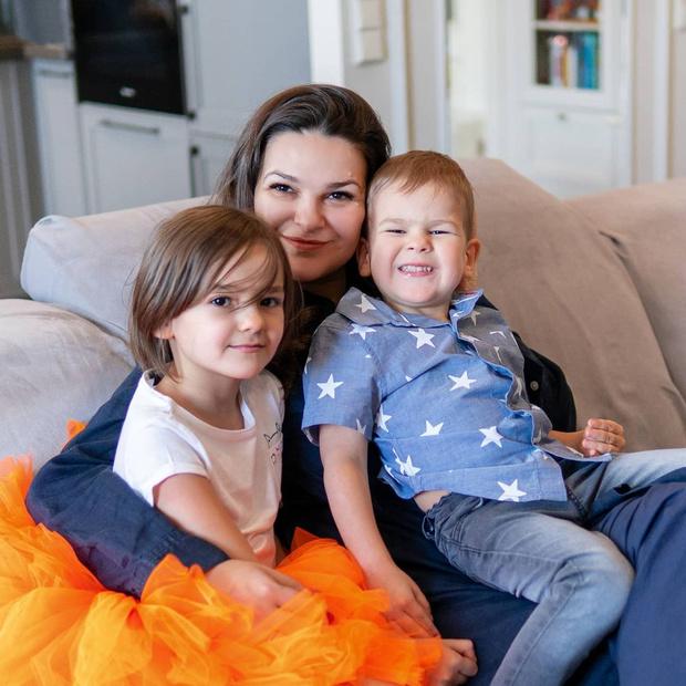 Виктория Райдос беременна, ждет третьего ребенка