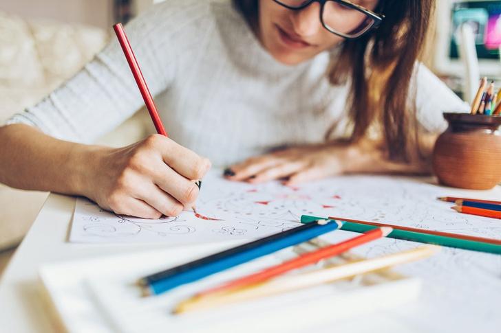 рисование как способ снять стресс при беременности