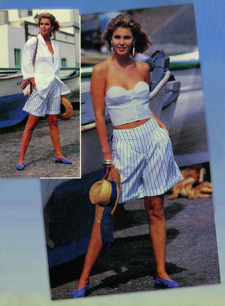 Фото №3 - Как выглядели наряды из первых номеров журнала Burda