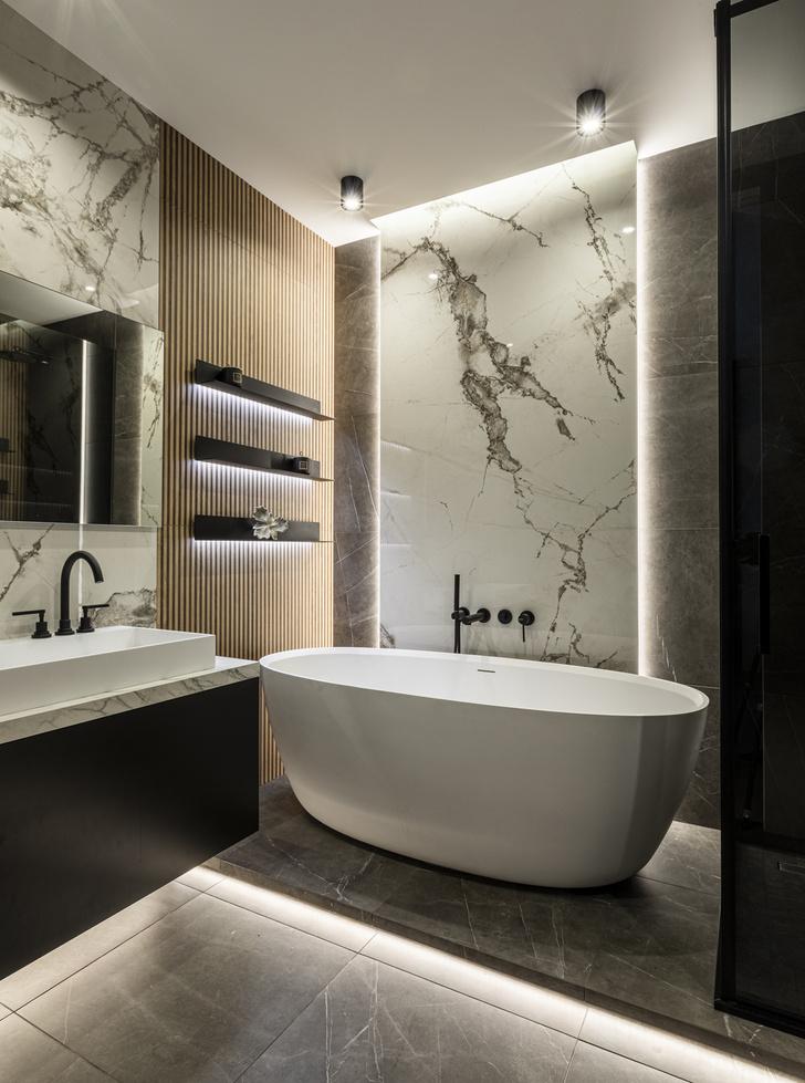 Фото №20 - Европейский интерьер московской квартиры 90 м² для иностранца