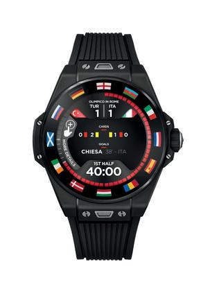 Фото №6 - Спортивный настрой: как выглядят новые смарт-часы Hublot в честь Euro 2020