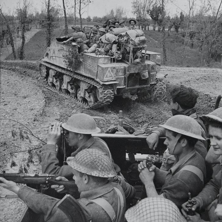 Фото №8 - «Они утонули…»: чудо-танки союзников для высадки в Нормандии
