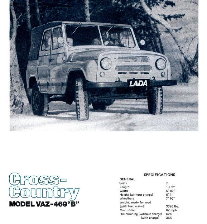Фото №12 - Советские полуфабрикаты: как автомобили из СССР дорабатывали для зарубежного покупателя