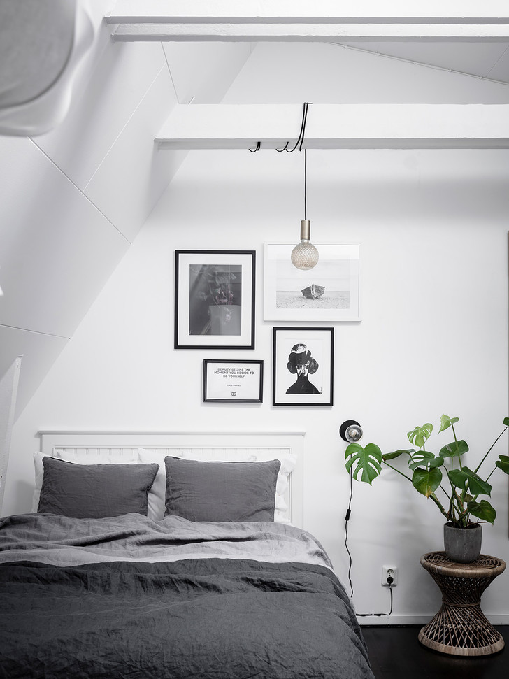 Фото №4 - Маленькая, но уютная мансарда в Швеции