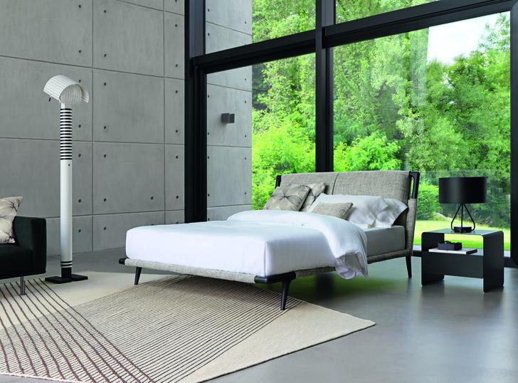 Фото №2 - Новая кровать Gaudi от Flou