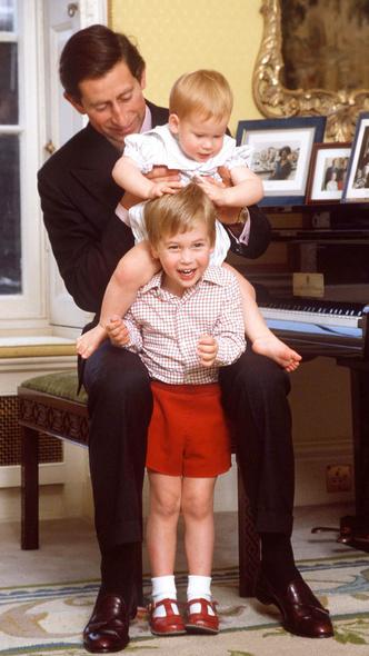 Фото №4 - 15 трогательных фото, доказывающих, что Уильям и Гарри были действительно близки