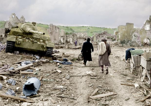 Фото №16 - 22 завораживающих цветных фото Второй мировой