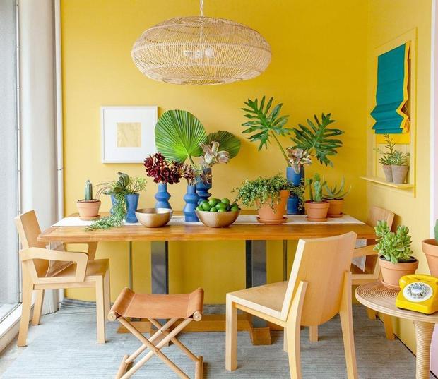 Фото №1 - Красим стены в желтый: 6 секретов солнечного интерьера