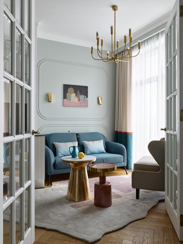 Фото №1 - Квартира для семьи из четырех человек в Москве