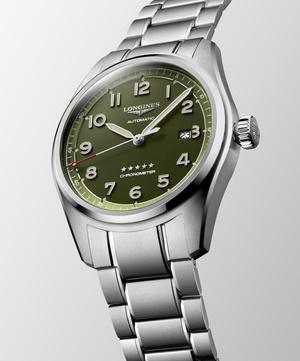 Фото №4 - Часы-легенда: теперь Longines Spirit доступны и в зеленом цвете