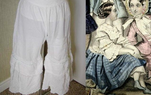 Фото №2 - 7 старинных предметов нижнего белья, которые сегодня выглядят дико