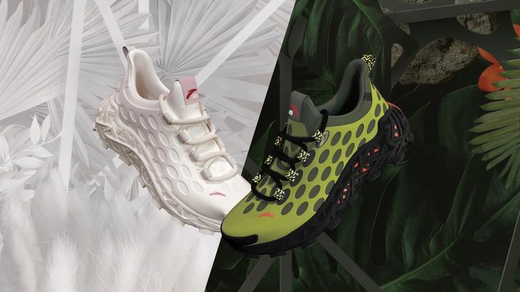 Фото №1 - Бренд Anta и Салехи Бембури объединились для создания кроссовок с природным дизайном Anta Nest