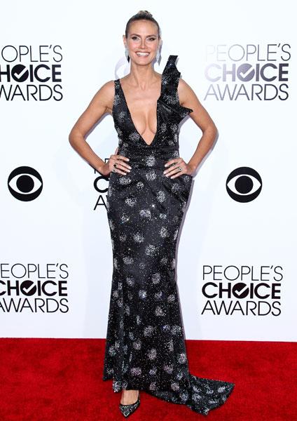 Хайди Клум на People's Choice Awards 2014