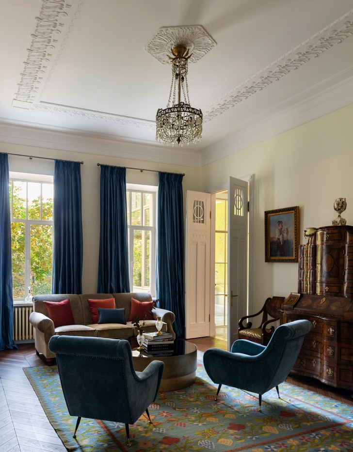 Фото №1 - Классическая квартира 150 м² для профессора в Киеве