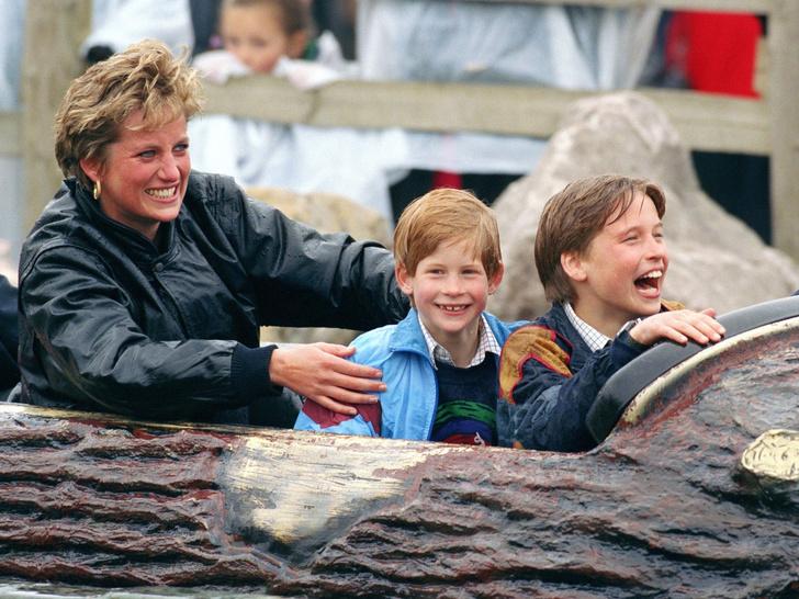 Фото №1 - Совсем не весело: почему совместные вылазки с Дианой и Гарри расстраивали Уильяма