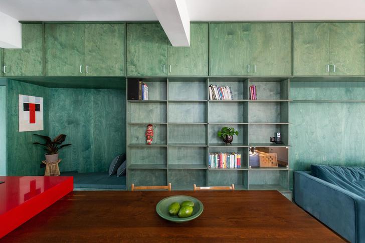 Фото №1 - Буйство красок: квартира в Афинах
