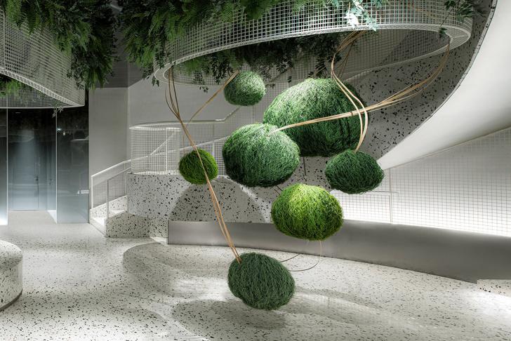 Фото №6 - Кофейня с «парящим» садом в Гуанчжоу