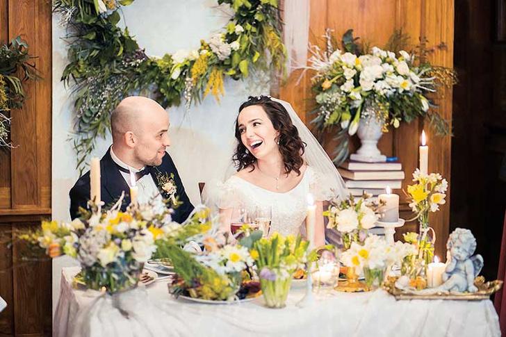 Фото №6 - Свадебные традиции Михалковых, Глызиных и других российских звезд